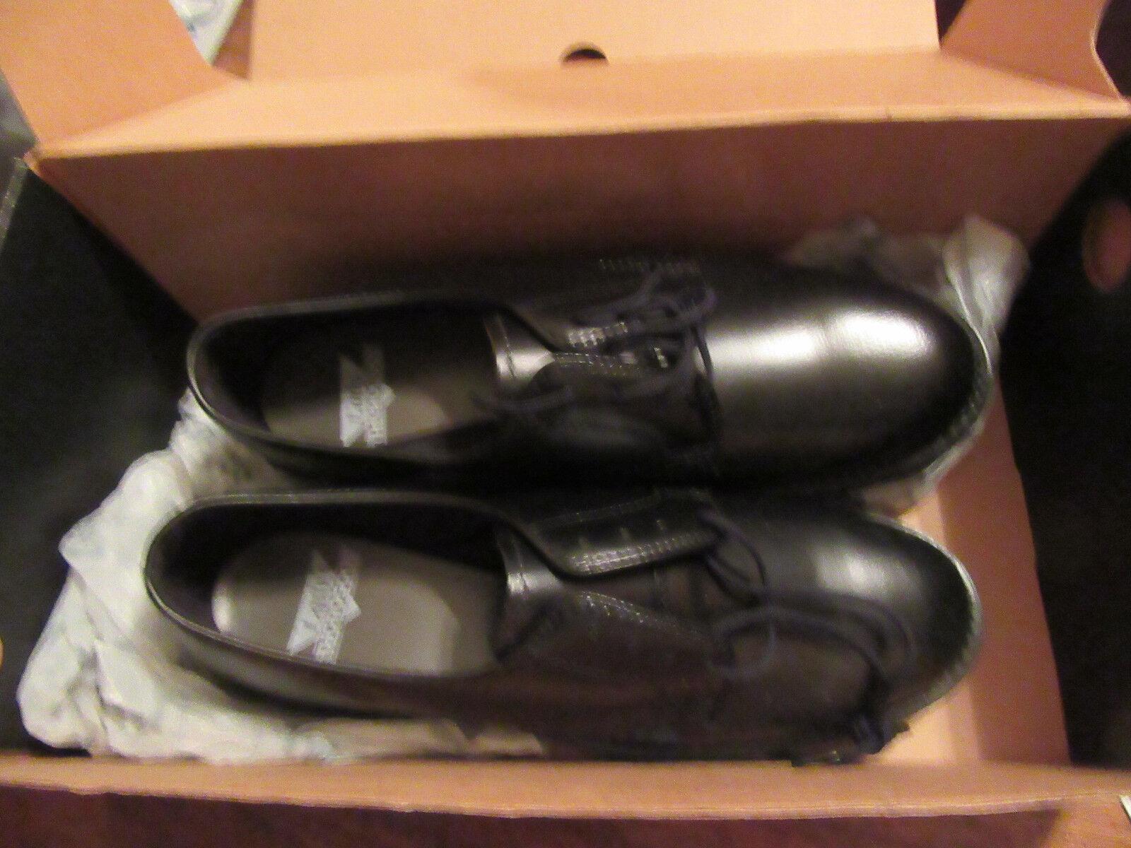 Thgoldgood 534-6047 Women Uniform Classics Leather High Shine Leather Oxford