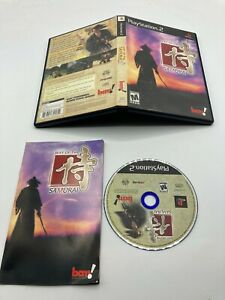 Sony-PlayStation-2-PS2-CIB-Complete-Tested-Way-of-the-Samurai-Ships-Fast