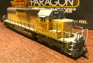HO-Broadway-Limited-BLI-Union-Pacific-UP-SD40-2-Paragon3-Sound-DC-DCC-Weathered