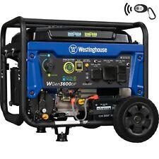 Refurbished Wgen3600df Portable Dual Fuel Generator