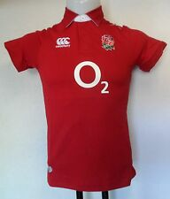 ENGLAND RUGBY 2014/15 S/S ALT CLASSIC JERSEY BY CANTERBURY SIZE 14 YEARS  NEW