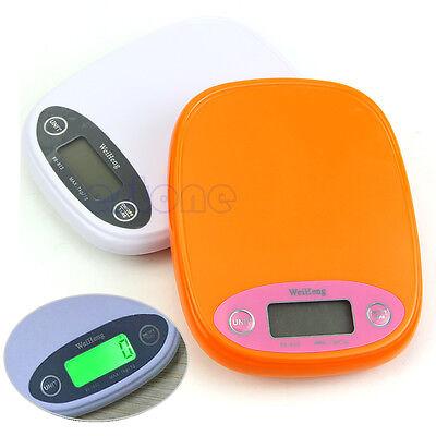New Kitchen Scale 7kg/1g Digital Food Diet Postal Weight Balance g lb Backlight