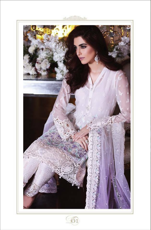 Maria B EMBROIDERED Collection Design 1