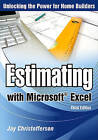 Estimating with Microsoft Excel by Jay Christofferson (Paperback / softback, 2009)