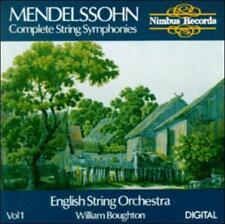 Mendelssohn: Complete String Symphonies Vol. 1, New Music