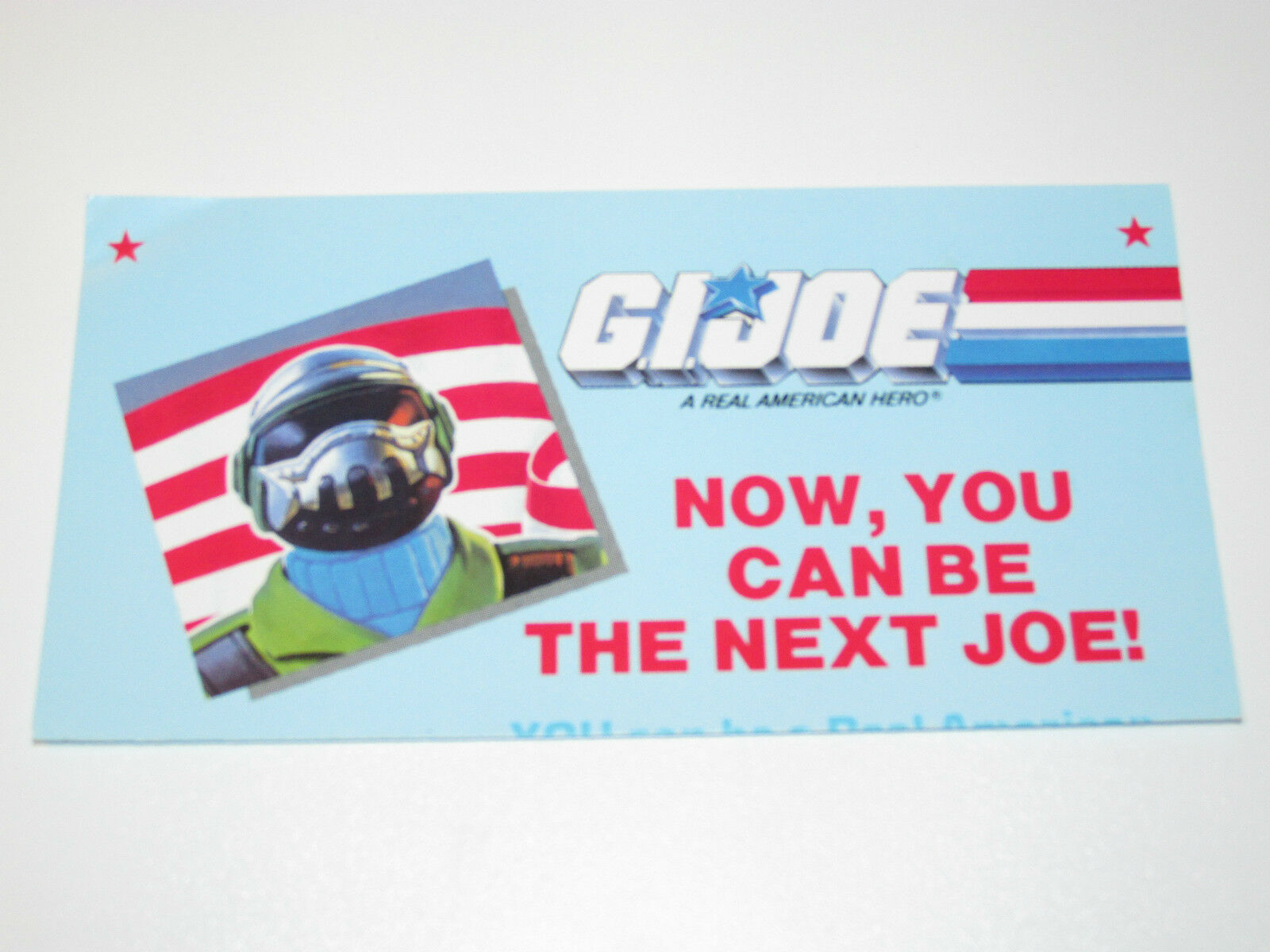 VINTAGE GI JOE 1988 LEAFLET ORDER FORM 'SECRET ID'  BRIGADE  STEEL BRIGADE  - HASBRO a5b362