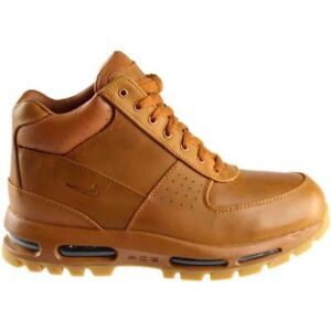 half off 723bd d9ba6 Image is loading Nike-Air-Max-Goadome-Boots-Tawny-Light-Brown-