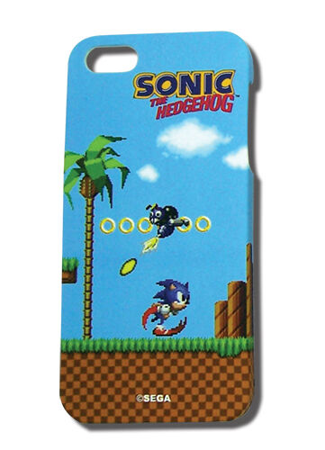 Sonic Coins and Running IPhone 5 Cell Phone Case Anime MINT