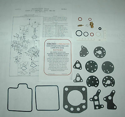1973 75 CARB KIT SET FOR NISSAN 240Z 260Z 1 BARREL HITACHI 6 CYL DOES 2 CARBS