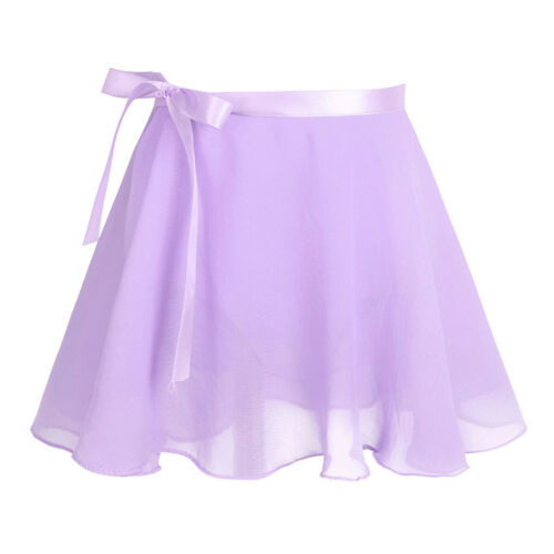 UK Girls Ballet Dance Dress Chiffon Gymnastics Leotard Tutu Skirts Skate Costume