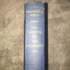 Book-Sale-The-Making-of-the-President-1960-T-H-White-1961-FIRST-EDITION