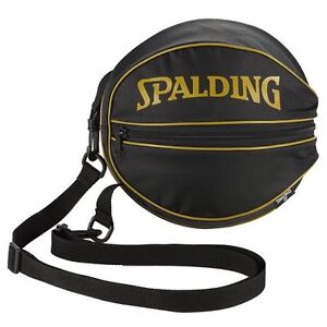 Image Is Loading Spalding Basketball Ball Carry Bag Gold 49 001gd