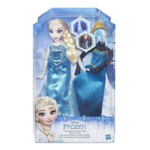 Hasbro-Disney-Frozen-Elsa-Festive-Changing-Outfit-Doll