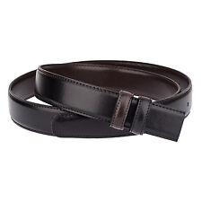 "Mens Belts Reversible leather belt strap Black Brown 3 cm versace buckles 40"""