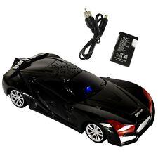 Bluetooth Mini Car Speaker Compatible Phone/Mp3/PC/Laptop TF/USB/FM Music Black