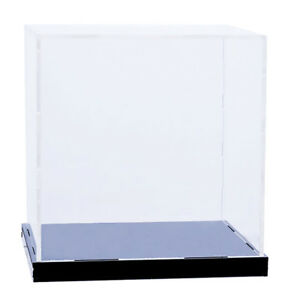 16cm Clear Acrylic Display Box Case Stand Dustproof Toy Protection Cube Show