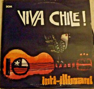Viva Chile, Inti-Illimani LP