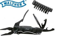 Walther Multi Tac Tool Messer + Neue Generation + inkl. Bithalter und Etui OVP