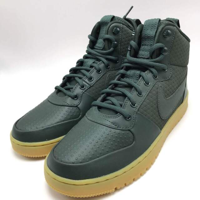Nike Court Borough Mid Winter Shoes Men's SNEAKERS Trainers Green Aa0547 300 10