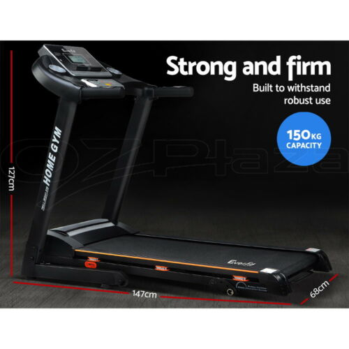 d2d526ea628 1 of 9FREE Shipping Everfit Electric Treadmill Home Gym Exercise Machine  Fitness Equipment Physical