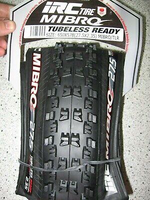 """Irc Torque Downhill Bicycle Tube Schrader Valve 24/"""" X 2.35-3.0 Bike"""