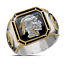 Men-039-s-Buffalo-925-Silver-Animal-Band-Ring-Women-Wedding-Party-Jewelry-Size-6-13 thumbnail 20