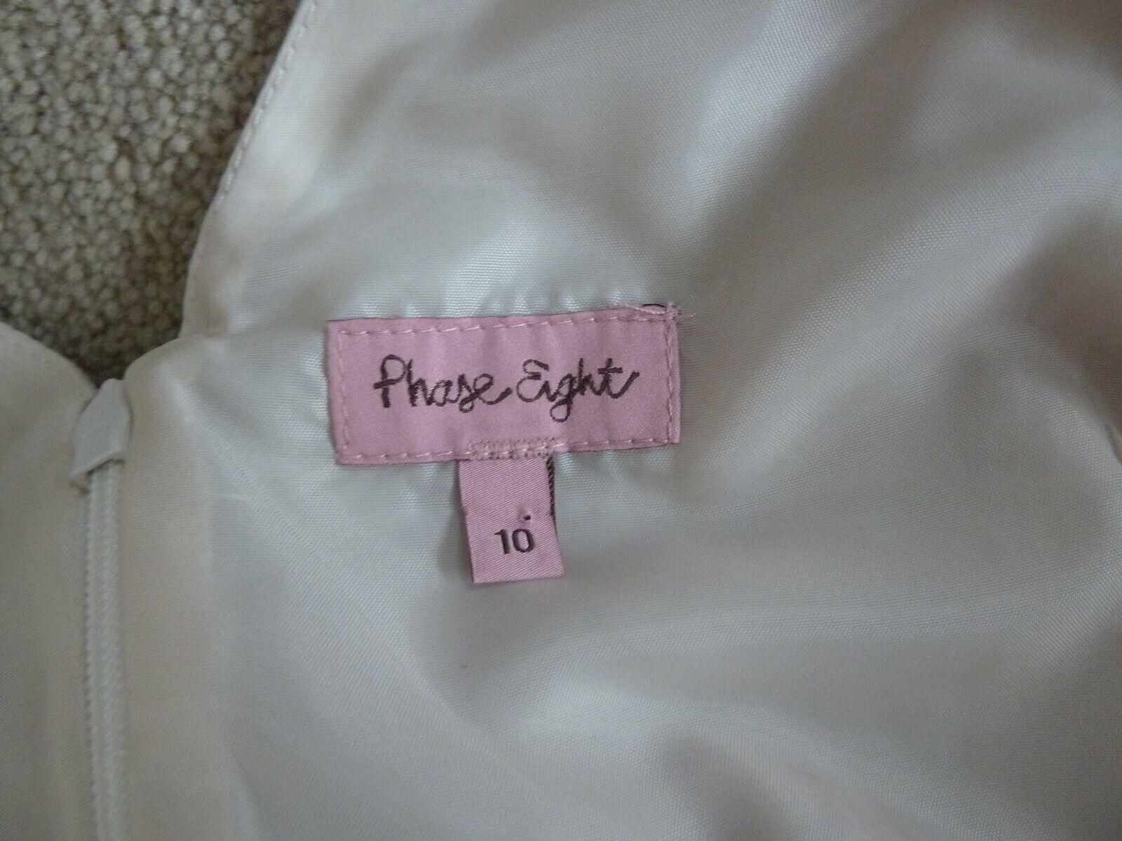 FAB rosa Crema OTTO Phase Viola Floreale Floreale Floreale rosa Fit N Flare 50s Abito Taglia 10 in buonissima condizione 5137c9