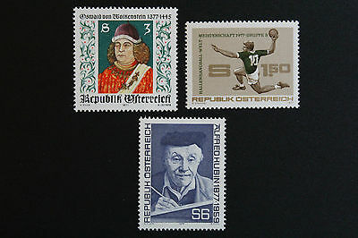 To Have A Long Historical Standing Fast Deliver Austria Stamp Yvert And N Tellier°1370 à 1372 N Stamp Austria cyn5