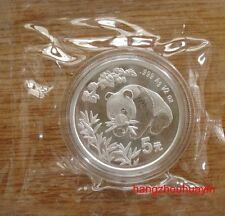 1998 1/2oz panda silver coins