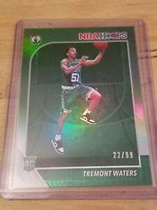 2019-Hoops-Tremont-Waters-SP-RC-GREEN-Foil-Card-22-99
