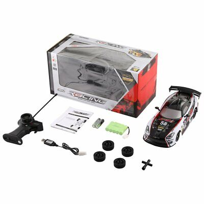 New 27MHz 4WD Drifting Remote Control Radio Controlled Car High Speed On Road Ra