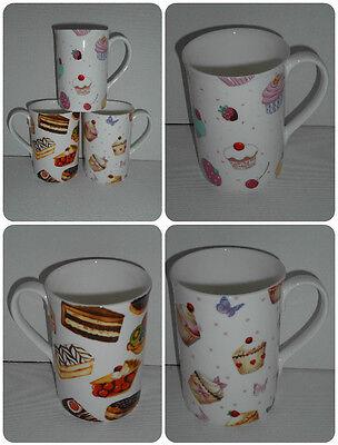Teacher Gift Fine Bone China BN Boxed Personalised Cupcake Mugs Friend Gift