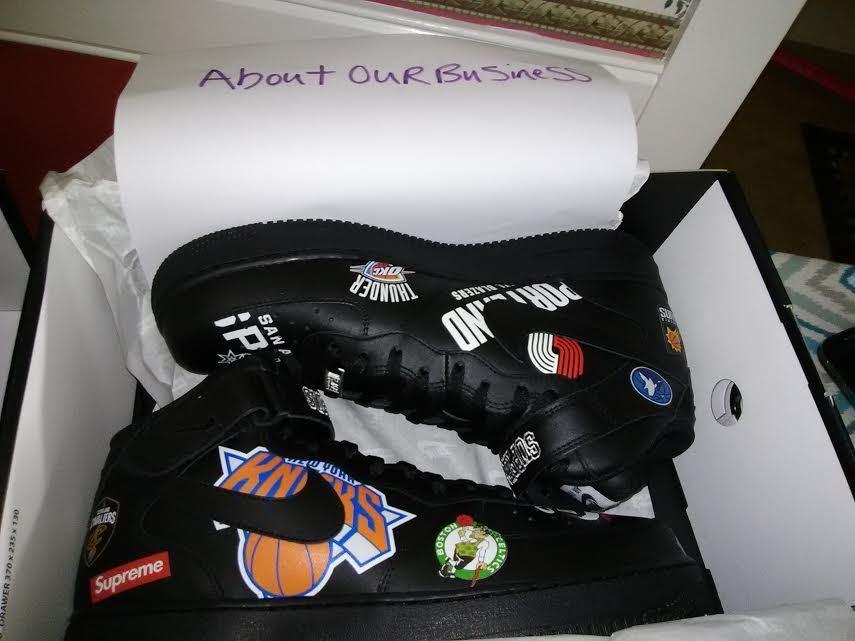 Nike Air Jordan 33 XXXIII Supreme Force 1 NewYork All star Size 12 Free Shipping