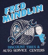 XL * vtg 80s Fred Mindlin DISCOUNT TIRES Lehigh Valley Pennsylvania t shirt