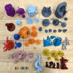 Lot-5-Dungeons-amp-Dragon-D-amp-D-Cthulhu-Wars-Board-Game-Miniatures-figures-Random