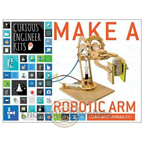 Robotic Arm Kit Fun Education Kit Learn Play Curious Engineer