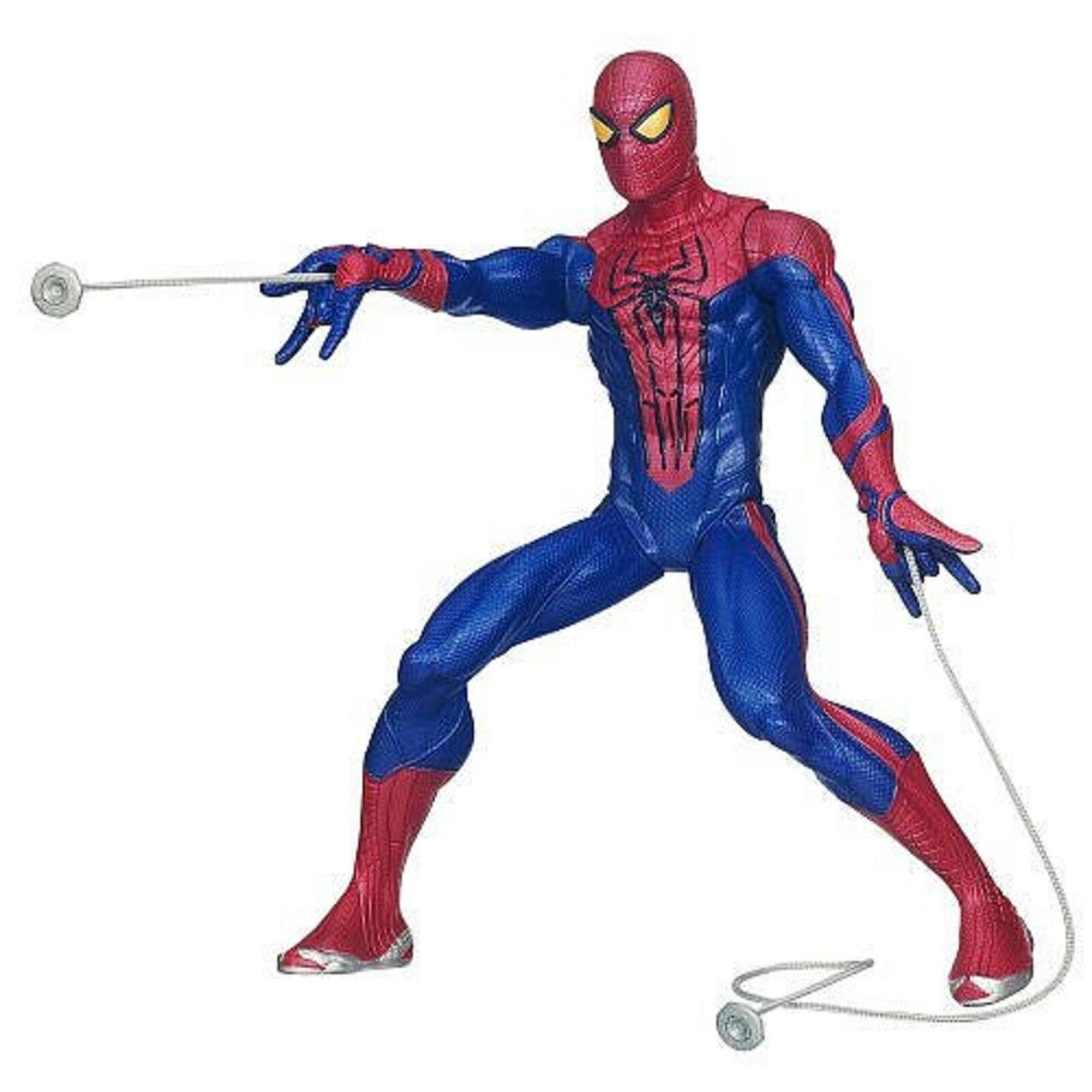 Mavel Avengers The Amazing Spiderman Web Shooting Hasbro Ages 4+ Spider Man Toy