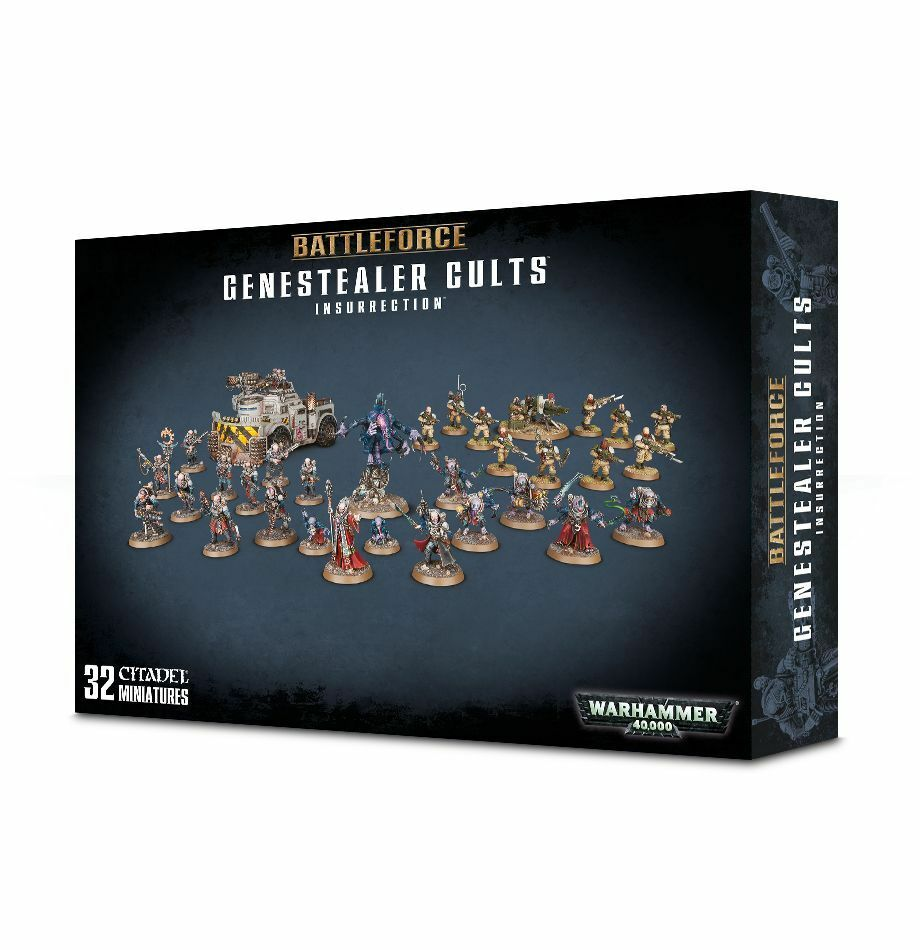 Battleforce Genestealer Cults Insurrection - Games Workshop 40K