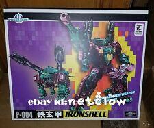 Transformers TFC toy P-004 P-04 Poseidon Ironshell Snaptrap Piranacon in Stock