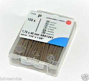 100x-SUKI-Paneelstift-Sockelleistenstifte-farbig-Leistennaegel-Stahlstifte
