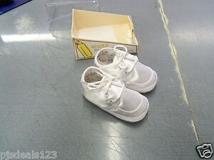 a38e064696 Details about New Baby Deer Infant Girls Boys Size 2 Satin Lace Up Crib  Shoes FREE Shipping!!