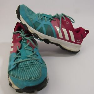 bc3e6a67550d05 Adidas Kanadia TR 8 Women s Trail Running Shoes Size 4 Turquoise ...