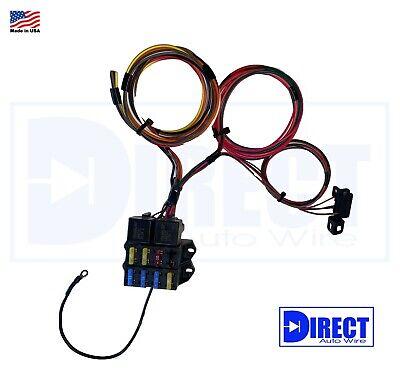D510C LS Swap LS3 /& GEN V LT Billet Coil Relocation Bracket Harness Kit
