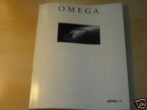 11384) Opel Omega B inkl. MV6 Belgien Prospekt 1994 - Göttingen, Deutschland - 11384) Opel Omega B inkl. MV6 Belgien Prospekt 1994 - Göttingen, Deutschland