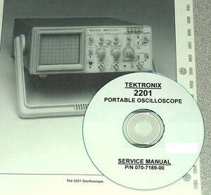 tek tektronix 2201 oscilloscope service manual w schematics ebay rh ebay com Tektronix Oscilloscope Tektronix Analog Oscilloscope
