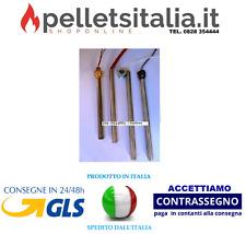 1 PZ CANDELETTE ACCENSIONE STUFE A PELLET  NUOVA GARANZIA ITALIA