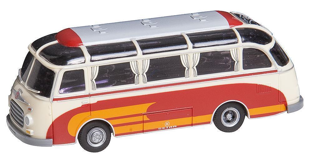 vendita scontata Ftuttier 161617 h0 autobus Setra S 6 6 6 Brekina auto System  migliore offerta