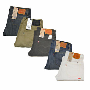 Levis-569-Mens-Jeans-Loose-Straight-Fit-Casual-Relaxed-Denim-Trousers-New-Nwt