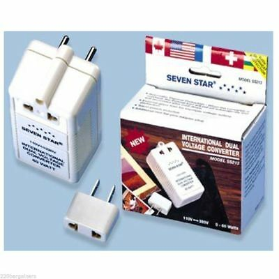 International Dual Voltage Converter 110-220 Volt