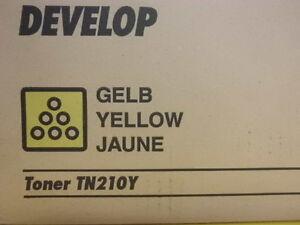 Develop Original Toner TN 210 Y 8938518 Neu + Original verpackt !!